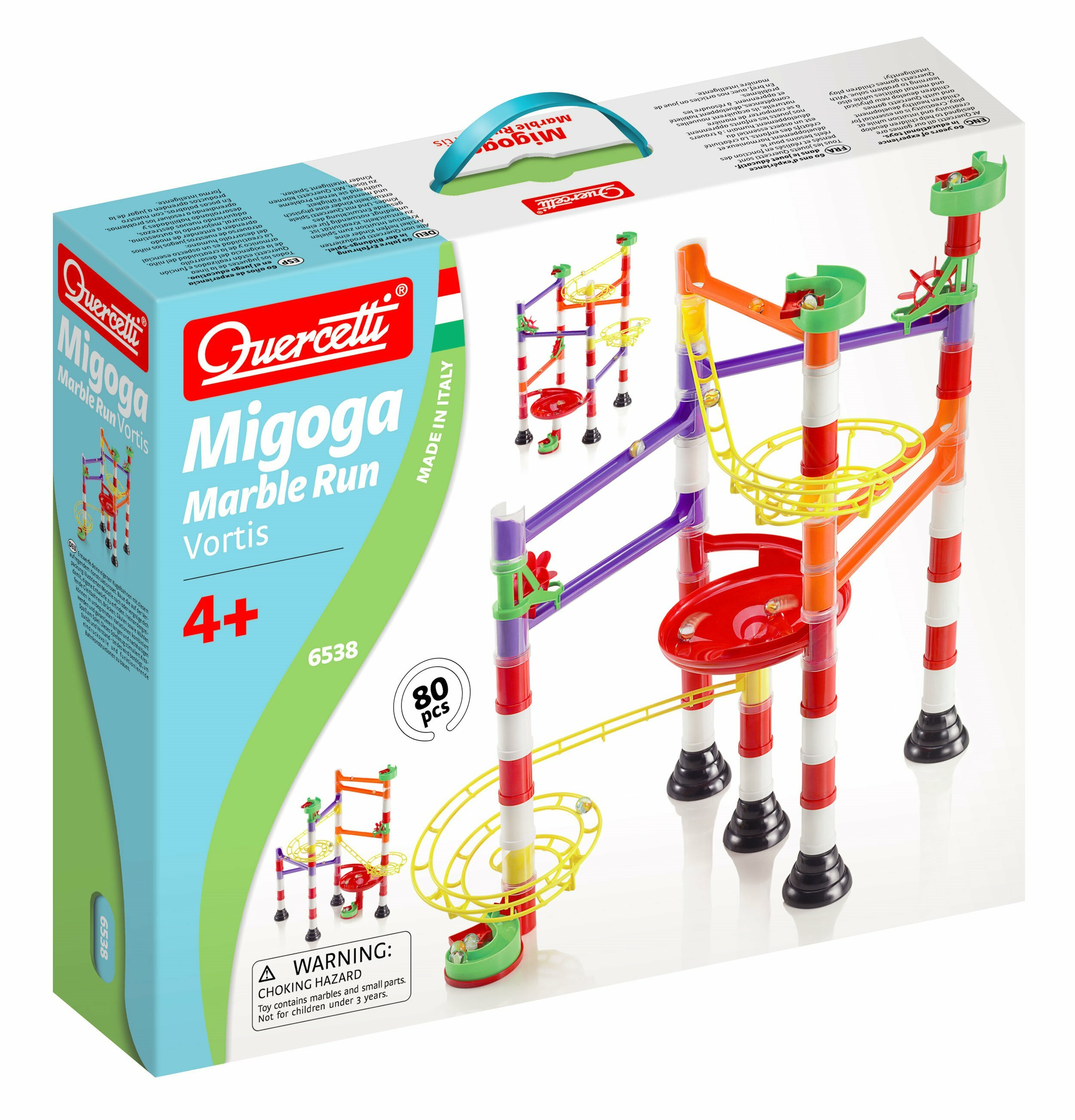 MARBLE RUN FORTEX 80 CZ., QUERCETTI (nr art. 6538)